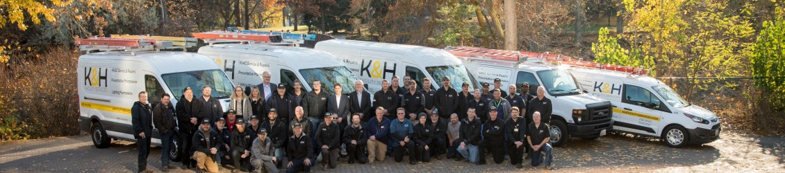 K&H Facility Services team group photo